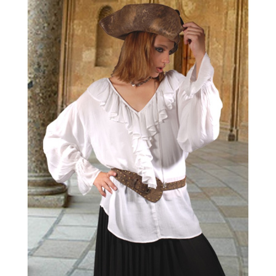 Ladies Pirate Blouse Uk Anlis