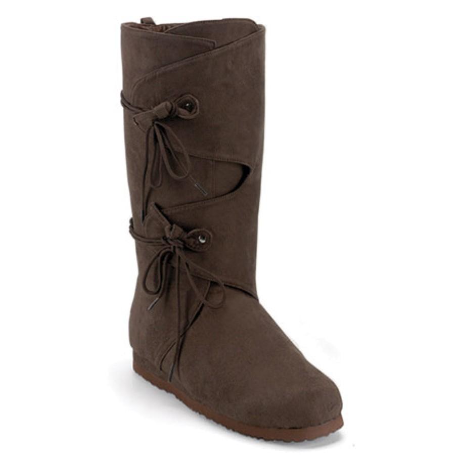 Women's Renaissance Side Lace Boot - Brown